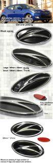 Hyundai 2012 2013 Veloster Grille Trunk Steering Wheel Emblem Badge