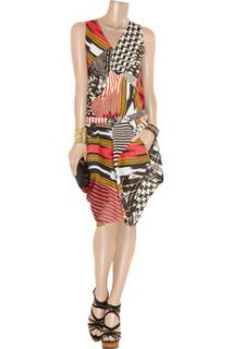Zero+MariaCornejo Zazi printed linen dress   60% Off