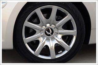 Hyundai Equus Chrome wheel Rim 19 inch Rear Fits 2011 2012 2013 Year