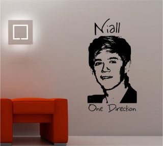 One Direction Wall Art Sticker Vinyl Lounge Music Bedroom Girls