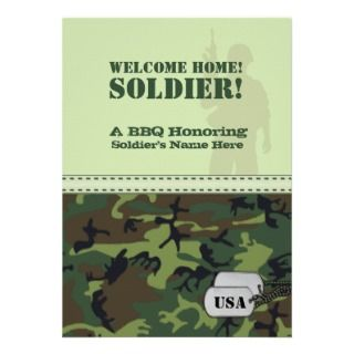 Http Www Popscreen Com P Mtywmdy3nzm4 Military Welcome Home Party Personalized Announcement