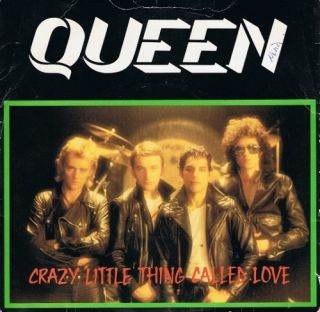 Queen Crazy Little Thing Called Love 7 Single Vinyl Record 45rpm EMI