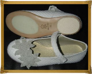 NWT I PINCO PALLINO SPECIAL OCCASION WEDDING FLOWER GIRL SHOES 32 UK 1