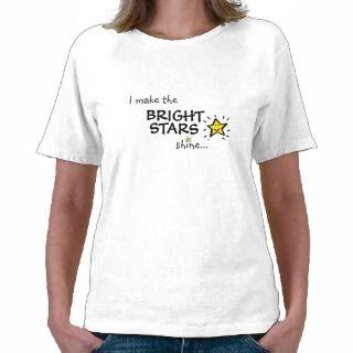 hago las ESTRELLAS BRILLANTES brillo T shirts de