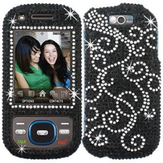 Rhinestone Diamond Bling Case Cover Samsung Exclaim 550