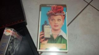 The I Love Lucy Show VHS Lucille Ball Signature Collection