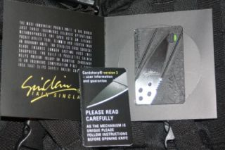 Iain Sinclair Cardsharp Credit Card Folding Safety Knife Stainless