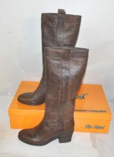 Miz Mooz Womens Ibsen Dark Brown Knee High Boots Sz 7 5