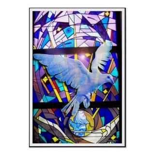 Peace on Earth Easter Dove Digital Poster Art