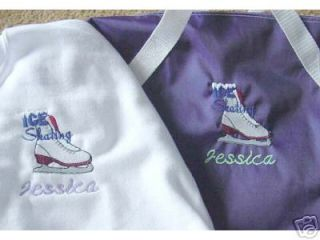 Personalized Ice Skating Skate Duffle Bag Shirt Set