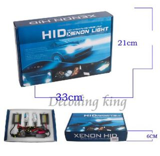 Super Canbus Slim HID Xenon Conversion Kit AC 50 55W with Decoder