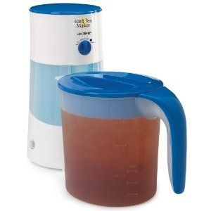 Mr Coffee TM70 3 Quart Iced Tea Maker Pitcher New