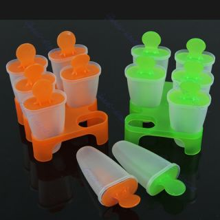 Cell Frozen Ice Cream Pop Mold Popsicle Maker Lolly Mould Tray Pan