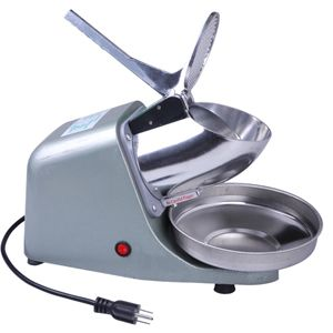 Electric Ice Shaver Snow Cone Maker Machine Stainless Steel Blade