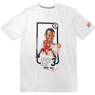 Nike Air Jordan CP Trading Card Tee Shirts Mens Sz 2XL Running 508084