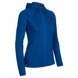 Icebreaker Womens Cascade Hood Fleece Jacket