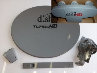Dish Network 1000 4 Satellite Ground Pole Kit Western Arc West 61 5 77