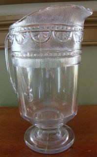 1885 EAPG Bryce Higbee Glass Picher Sheraon Ida