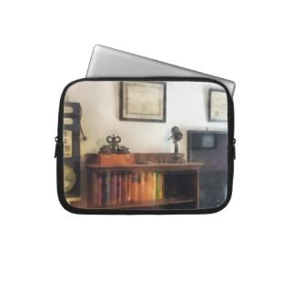 Eye Doctors Office With Diploma Laptop Sleeves
