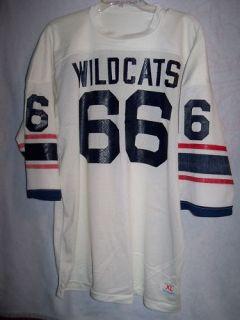 Vtg Champion Game Used Worn Football Jersey Arizona Wildcats XL