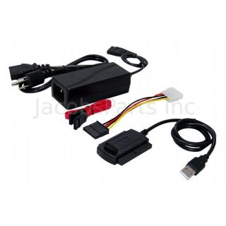 SATA IDE PATA to USB 2 0 Adapter for 2 5 3 5 Hard Drives
