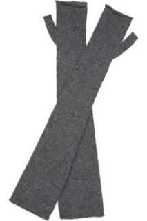 Tomas Maier Cashmere hat and fingerless gloves set