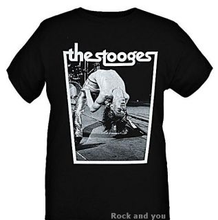 The Stooges Iggy Pop Backbend Punk Rock RARE T Shirt M L XL 2XL 3XL