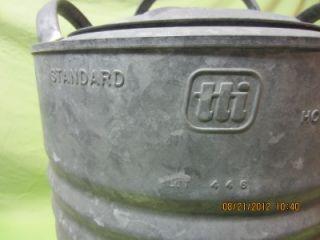 Gallon Igloo Water Cooler Dispenser Galvanized Steel Jug, Works Great