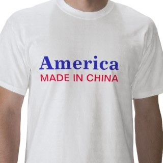 America, MADE IN CHINA /Ears Falling Off? by LadyDenise