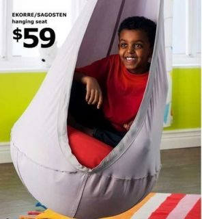 New Fun Ikea Swing Complete Set Hanging Chair Hammock Ekorre Air
