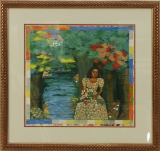 African American Framed Art Faith Ringgold