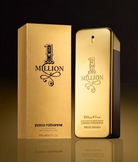 Buy New 1 One Million Paco Rabanne Men 200ml 6 7oz Perfume Spray
