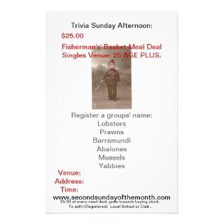 www.secondsundayofthemonth, TriPersonalized Flyer