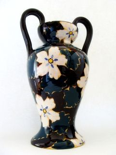 Ilsa in Albisola Italy Ceramic Vase Hand Painted Signed
