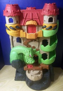 Fisher Price Imaginext Toy Lot Dragon Castle