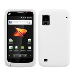 Warp N860 Cell Solid White Silicone Skin Gel Cover Phone Case