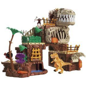 Fisher Price Imaginext T Rex Mountain New MISB