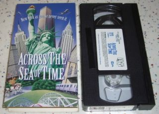 The Sea of Time VHS New York Immigrants History Genealogy IMAX