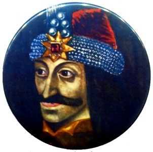 Vlad The Impaler Tepes Dracula Pin Badge Button Pinback