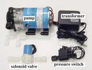 Reverse Osmosis Water Filtration System Pressure Booster Pump