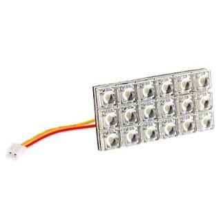 EUR € 8.64   BA9S/Festoon/T10 6W 18 LED 400 450lm Luce LED bianco