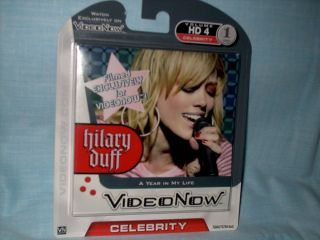 Video Now Hilary Duff Personal Video Disc PVD A Year in My Life
