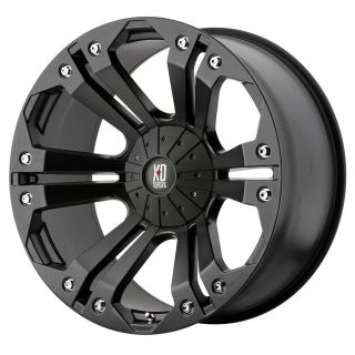 18 inch Black wheels rims KMC XD 778 MONSTER Jeep Wrangler 2007 2012