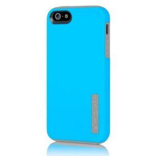 Incipio Dual Pro Hybrid Case for iPhone 5 Blue Grey IPH 820