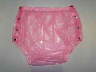 New Adult Baby Plastic Pants PVC Incontinence P004 5