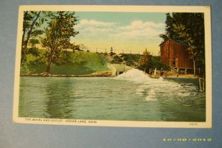 1928 The Whirl and Outlet Logan County Indian Lake Ohio