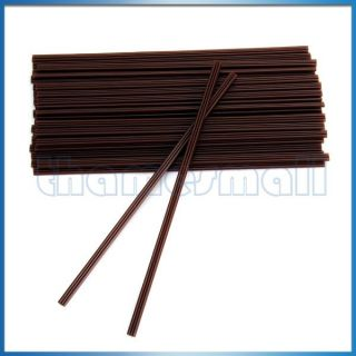 100pcs Disposable SIP Straw Coffee Stirrer Straws Drinking Drink Wine