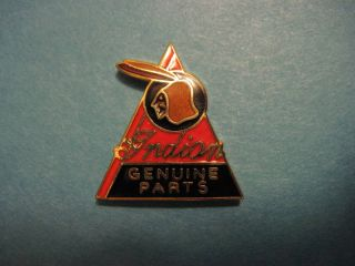 Indian Motorcycle Hat Pin Genuine Parts
