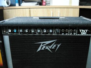 Peavey TNT130 Bass Amp with 15 Black Widow Speaker
