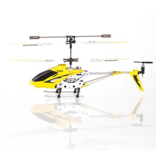 Mini RC Helicopter Metal Series Toy Gyro Remote Control Indoor